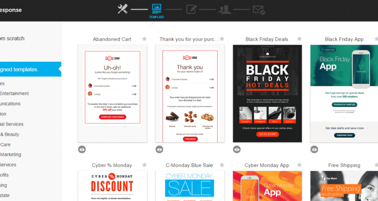 Black Friday app marketing ad creative